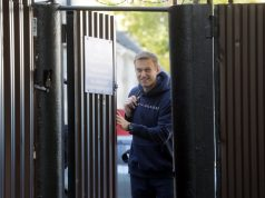 Алексей Навални тази сутрин бе пуснат от затвора