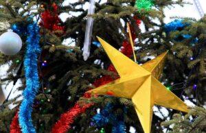 звезди, Коледа, украса