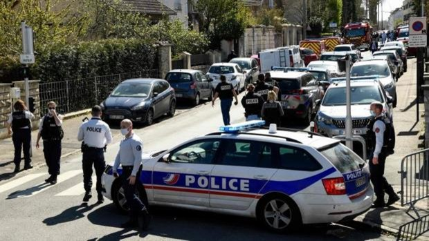 франция полицайка