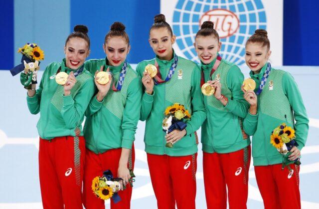 Българският ансамбъл по худежствена гимнастика